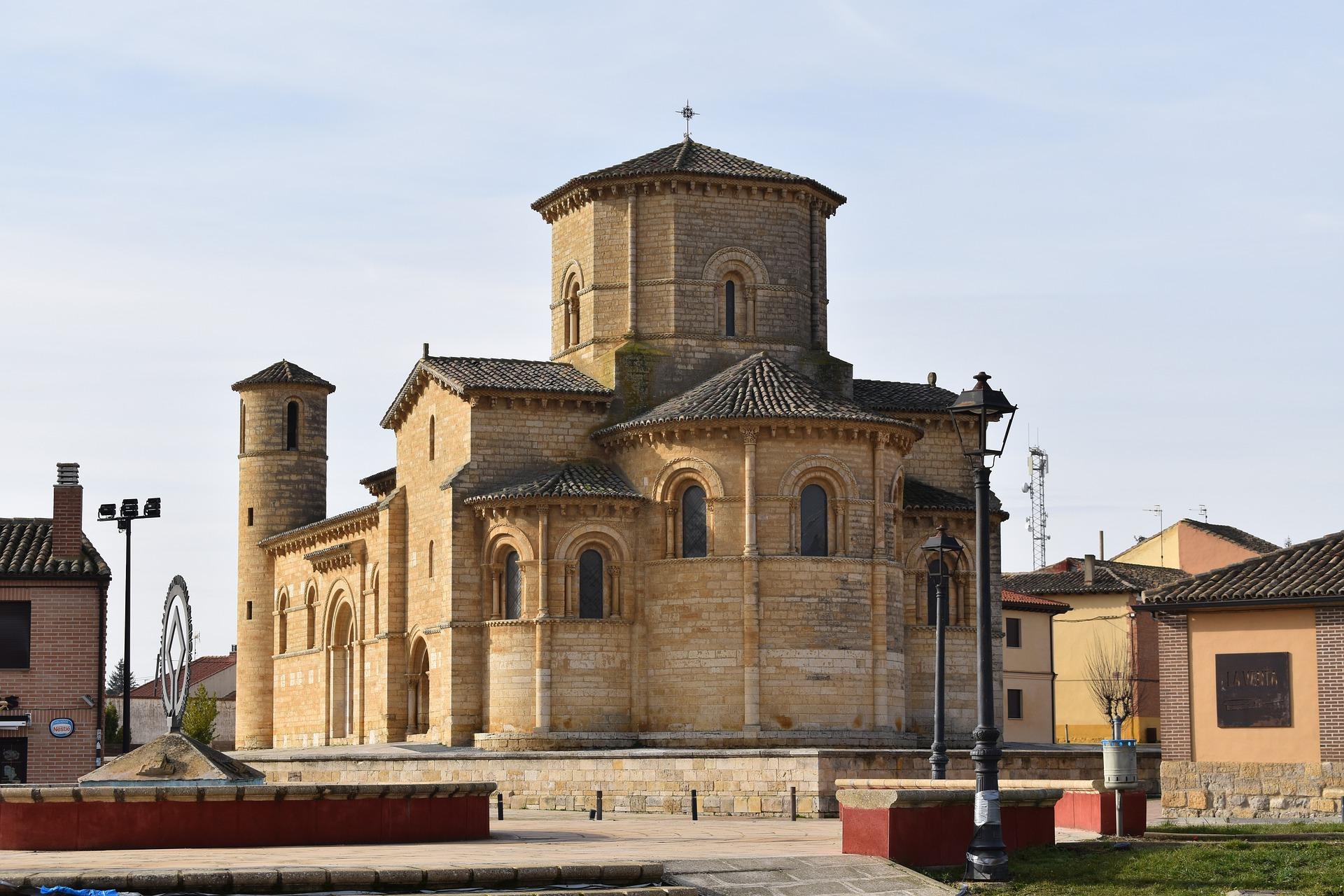Iglesia San Martín de Tours en Frómista