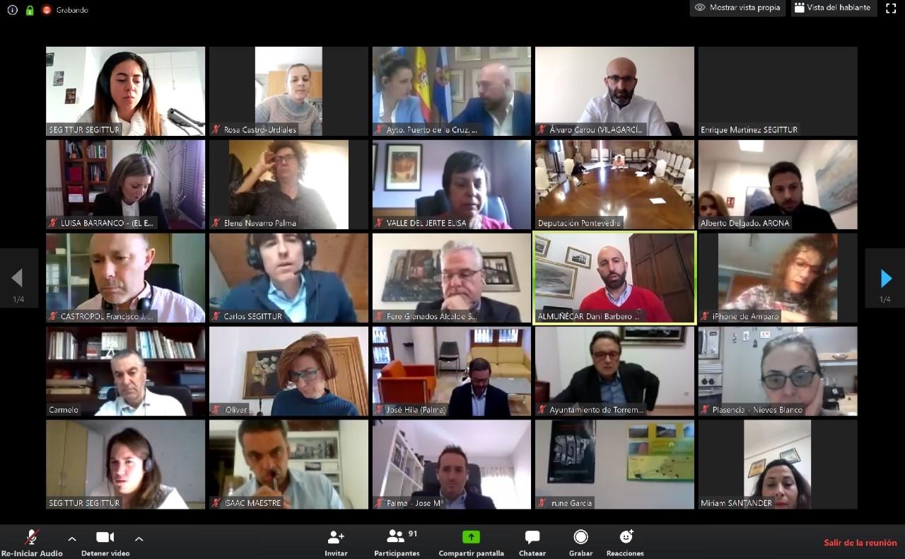Reunión Extraordinaria Red DTI