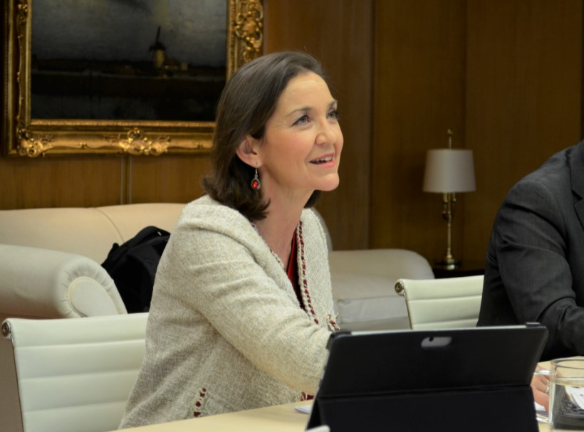 Ministra Reyes Maroto