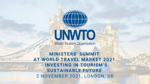 La cumbre de ministros organizada por la OMT, el WTTC y el WTM alienta el compromiso de invertir en el futuro sostenible del turismo